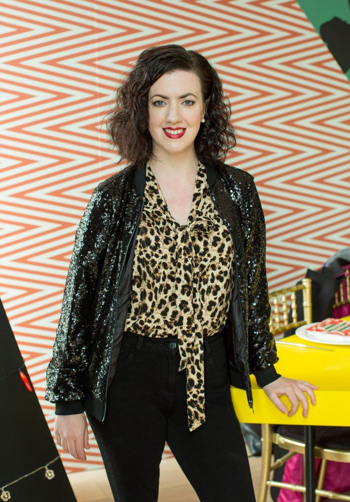 Deirdre Reynolds pictured at Jo Malone London #CrazyColourfulChristmas Press Launch in The Morrison Hotel Dublin. Photo Sean Cahill