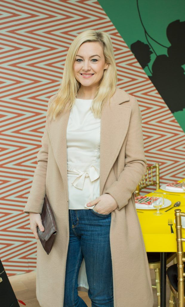 Laura Cunningham pictured at Jo Malone London #CrazyColourfulChristmas Press Launch in The Morrison Hotel Dublin. Photo Sean Cahill