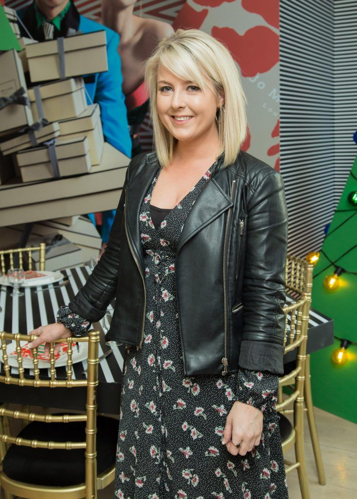 Rebecca Brady pictured at Jo Malone London #CrazyColourfulChristmas Press Launch in The Morrison Hotel Dublin. Photo Sean Cahill