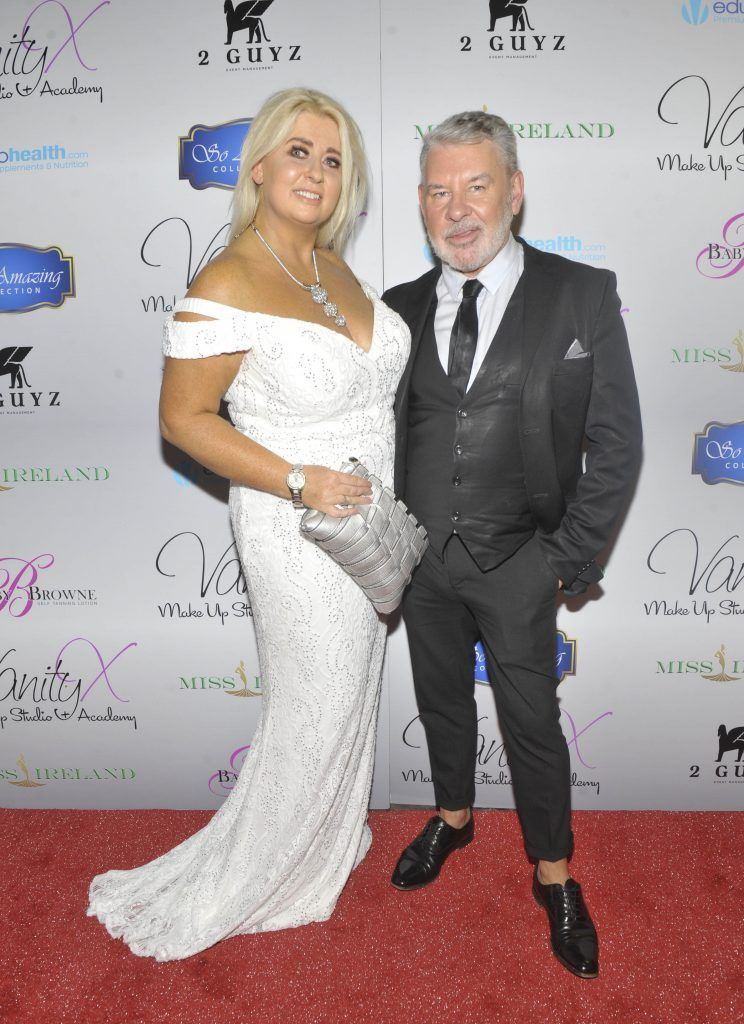 Sharon Hennessy and Michael Doyle at the Best of Irish Beauty and Brains Vie For Miss Ireland 2017 Victory. Photo by Patrick O'Leary