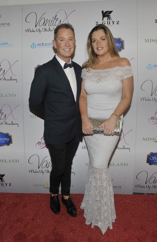 Stephen Kelly and Mary Moore at the Best of Irish Beauty and Brains Vie For Miss Ireland 2017 Victory. Photo by Patrick O'Leary