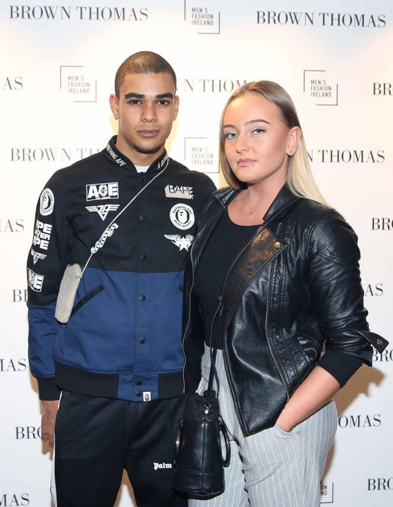 Loan Imbart and Daria Falkowska at the launch of the new issue of MFI Magazine at Brown Thomas, 28th September 2017. Photo: Sasko Lazarov/Photocall Ireland