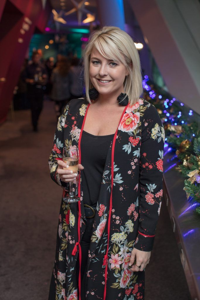 Rebecca Brady pictured on 3rd October 2017 at the exclusive Boots Christmas preview event in the Bord Gais Energy Theatre. Photo: Anthony Woods