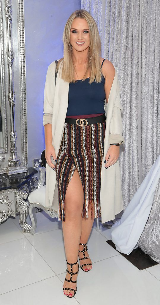 Leanne Stone at the launch of Beautique Beauty Studio in Fashion City, Ballymount, Dublin. Picture: Brian McEvoy