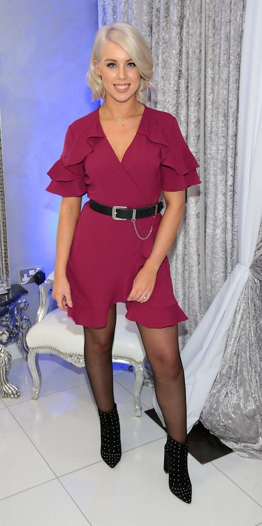 Stephanie McNamee at the launch of Beautique Beauty Studio in Fashion City, Ballymount, Dublin. Picture: Brian McEvoy