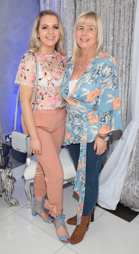 Nicola Maher and Karen Maher at the launch of Beautique Beauty Studio in Fashion City, Ballymount, Dublin. Picture: Brian McEvoy