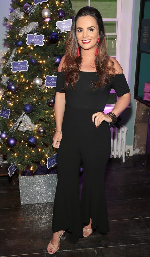 Nicola McLoughlin at the Loop at Dublin and Cork Airports Joy of Giving Christmas Preview at Number 4 Parliament Street. Picture: Brian McEvoy