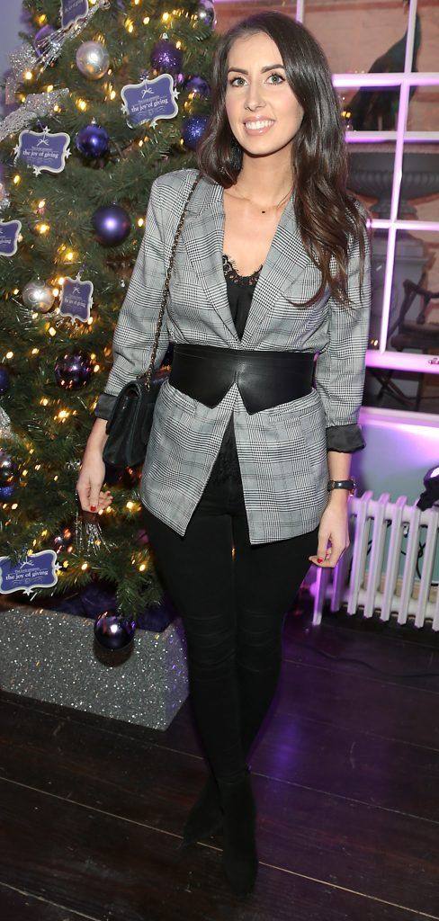 Nuala Gorhan at the Loop at Dublin and Cork Airports Joy of Giving Christmas Preview at Number 4 Parliament Street. Picture: Brian McEvoy