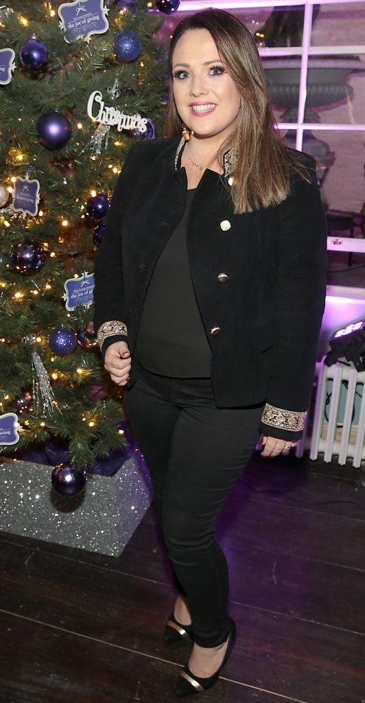 Sinead Kavanagh at the Loop at Dublin and Cork Airports Joy of Giving Christmas Preview at Number 4 Parliament Street. Picture: Brian McEvoy