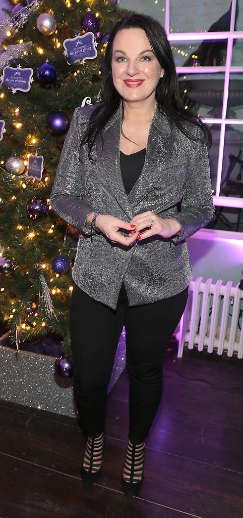 Triona McCarthy at the Loop at Dublin and Cork Airports Joy of Giving Christmas Preview at Number 4 Parliament Street. Picture: Brian McEvoy