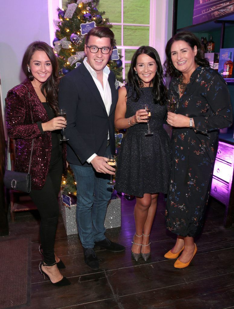Donna Ross, Matt Mackey,Anita Ross and Michelle Corbett at the Loop at Dublin and Cork Airports Joy of Giving Christmas Preview at Number 4 Parliament Street. Picture: Brian McEvoy