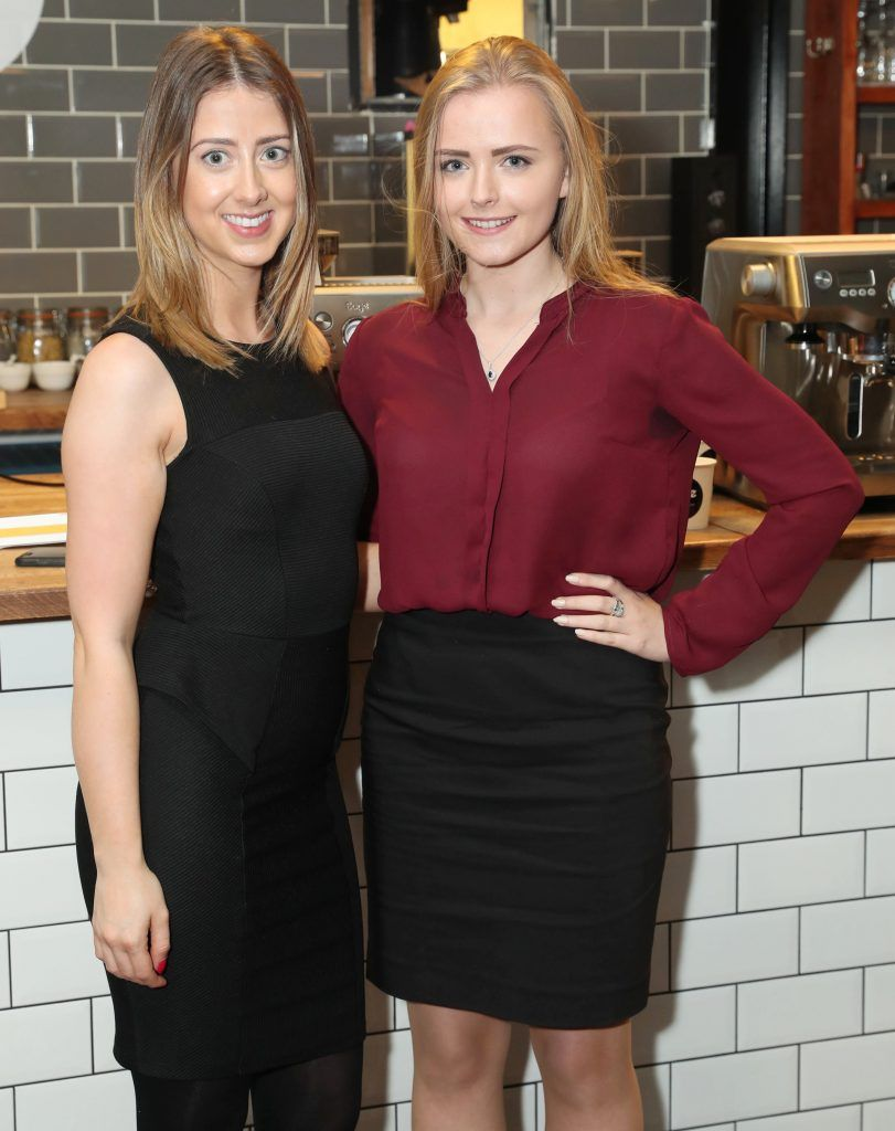 Emma Murphy and Caitlin Shipley pictured at the official Sage Appliances Launch Event in Ireland which took place in Two Fitfty Square, Rathmines (4th October 2017). Pic: Marc O'Sullivan