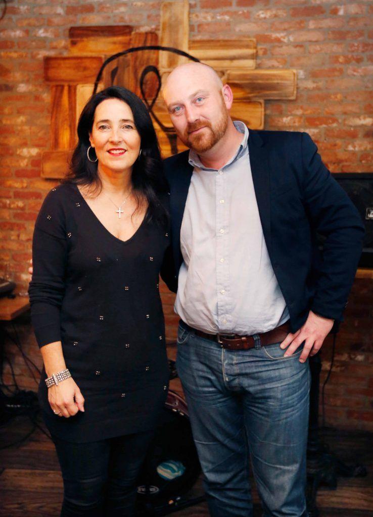 Pictured are (LtoR) Donna Lynan and Eddie Laughlinat the first birthday celebrations of Wishbone restaurant, Montague Lane, D2. Photo: Sasko Lazarov/Photocall Ireland
