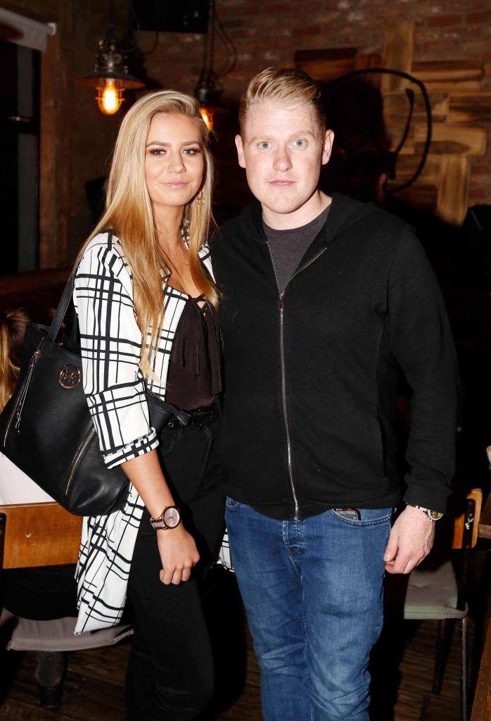 Lorcan Gigney and Ciara Dolan at the first birthday celebrations of Wishbone restaurant, Montague Lane, D2. Photo: Sasko Lazarov/Photocall Ireland