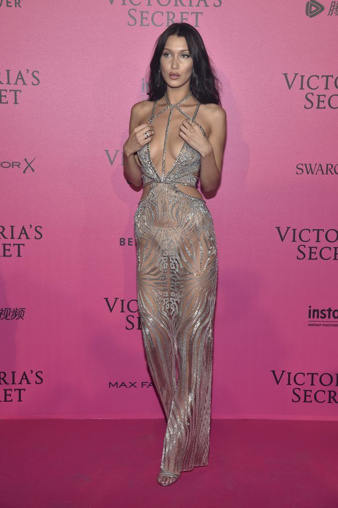 Bella Hadid attends the 2016 Victoria's Secret Fashion Show after party on November 30, 2016 in Paris, France.  (Photo by Pascal Le Segretain/Getty Images for Victoria's Secret)
