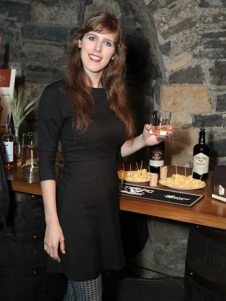 Gaby Guedez pictured at SuperValu's #WhiskeyExclusives event in The Crypt at Christchurch Cathedral on 11th October 2017. Guests got to enjoy a selection of Premium Irish Whiskey. Pic: Marc O'Sullivan