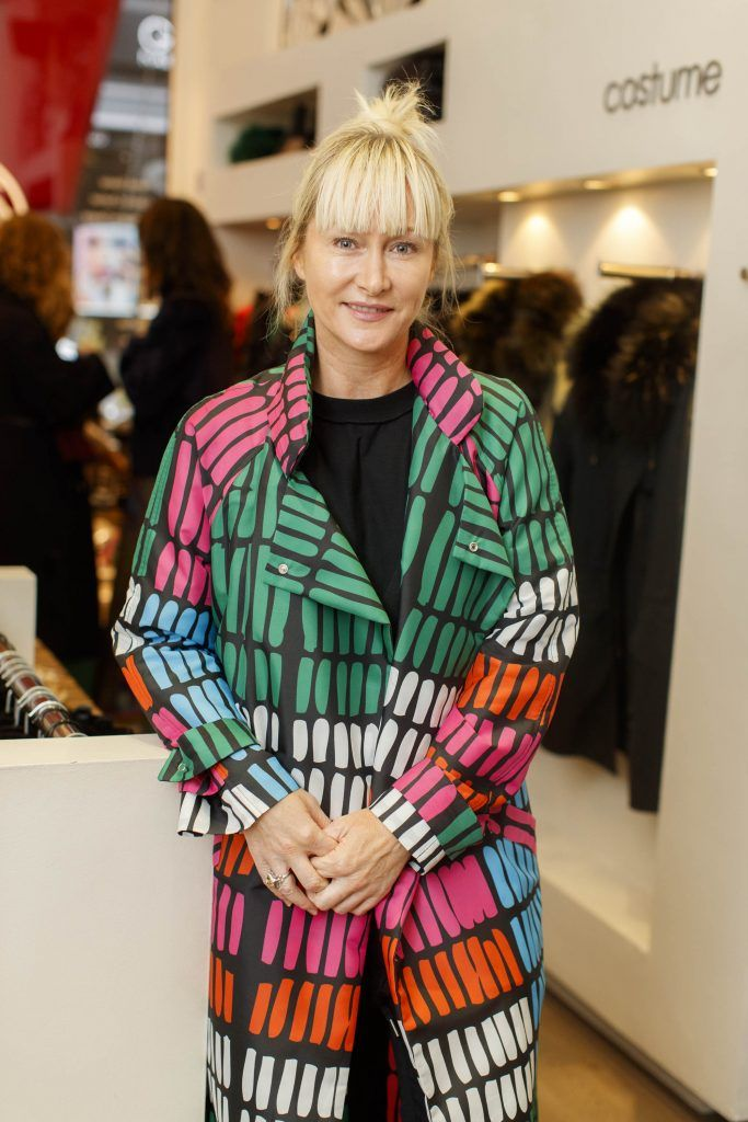Helen Steele pictured at an exclusive breakfast to celebrate Costume's 20th birthday on October 11th 2017. Picture: Andres Poveda