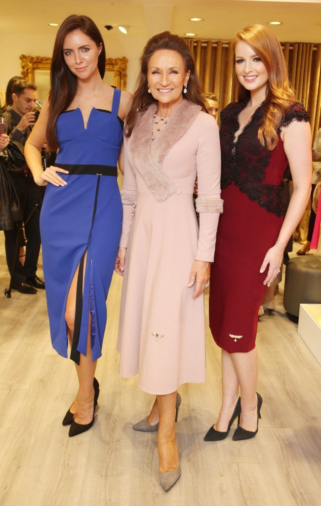 Pictured at the official opening of the Phoenix-V boutique located on 39 Stephen Street Lower Dublin. Photo: Leon Farrell/Photocall Ireland.