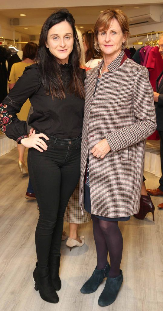 Paula and Carol Stone pictured at the official opening of the Phoenix-V boutique located on 39 Stephen Street Lower Dublin. Photo: Leon Farrell/Photocall Ireland.