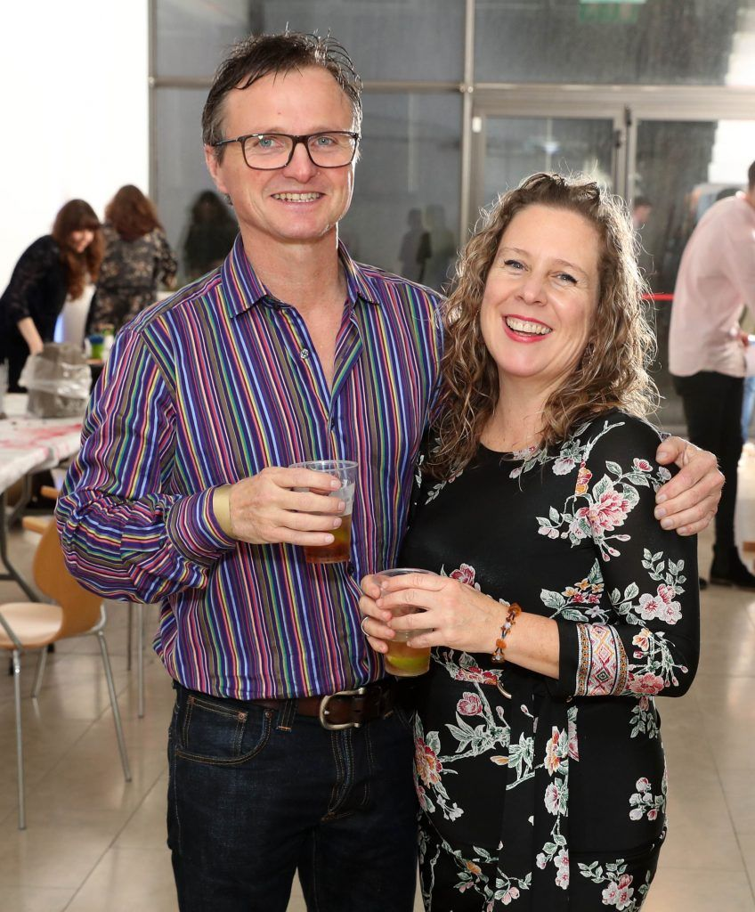 Davey Millard and Joanne Faulkner at the RHA's Hennessy Lost Friday's final installment of 2017 on October 21st. Pic: Marc O'Sullivan