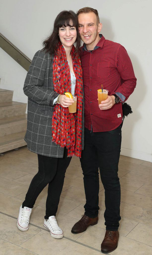 Jane Jeffreys and Christian Blumm at the RHA's Hennessy Lost Friday's final installment of 2017 on October 21st. Pic: Marc O'Sullivan