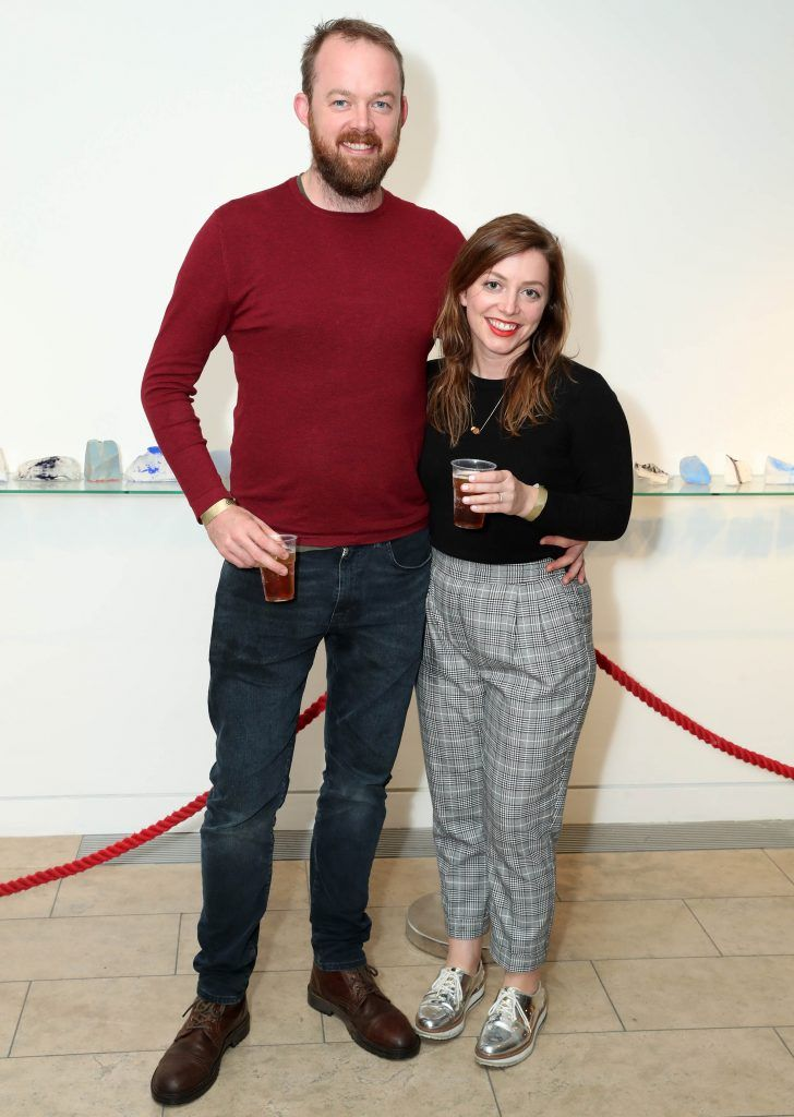 Eoin Cannon and Maree Rigney at the RHA's Hennessy Lost Friday's final installment of 2017 on October 21st. Pic: Marc O'Sullivan