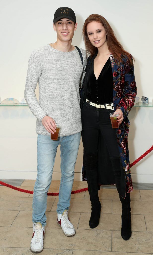 Jonathan Ng and Rosie Ashley at the RHA's Hennessy Lost Friday's final installment of 2017 on October 21st. Pic: Marc O'Sullivan