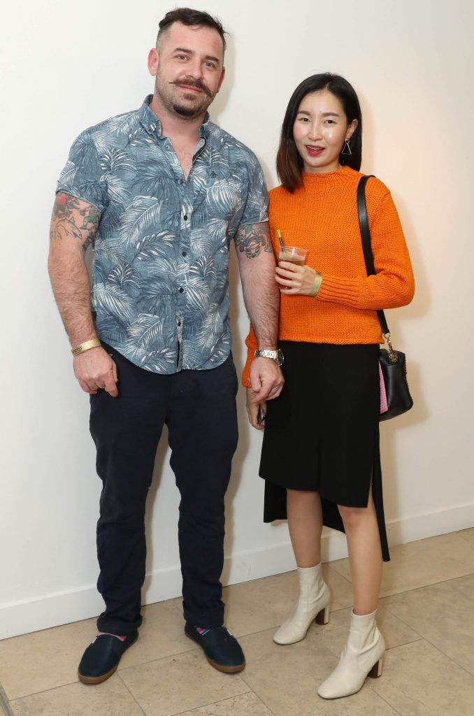 Solas Art and Sunni Kim at the RHA's Hennessy Lost Friday's final installment of 2017 on October 21st. Pic: Marc O'Sullivan