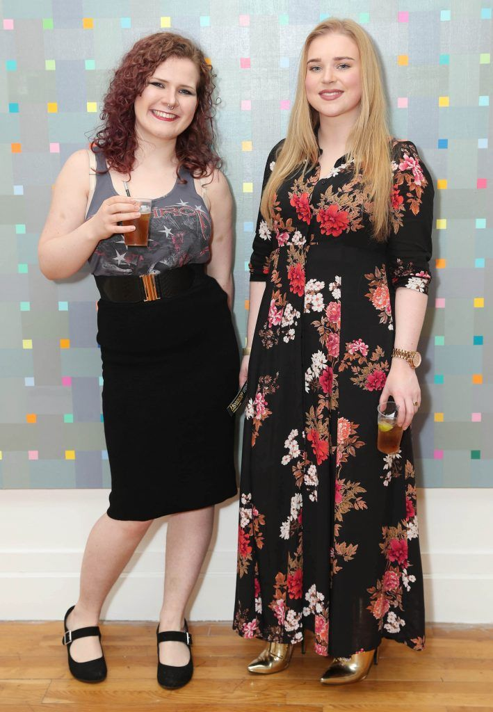 Alison O'Leary Fitzpatrick and Kelly O'Connor at the RHA's Hennessy Lost Friday's final installment of 2017 on October 21st. Pic: Marc O'Sullivan