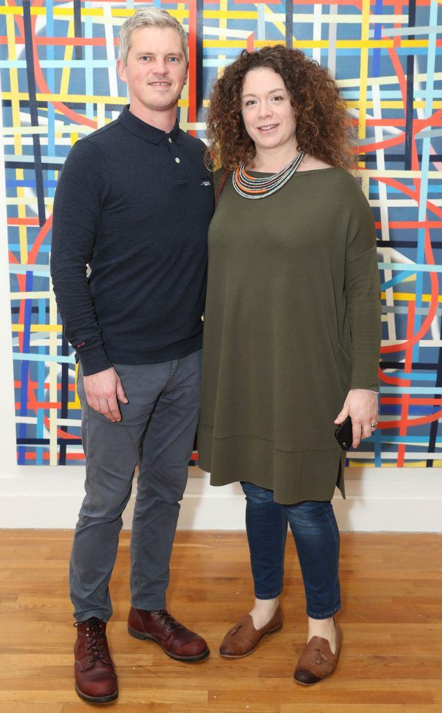 Noel and Mags Brennan at the RHA's Hennessy Lost Friday's final installment of 2017 on October 21st. Pic: Marc O'Sullivan