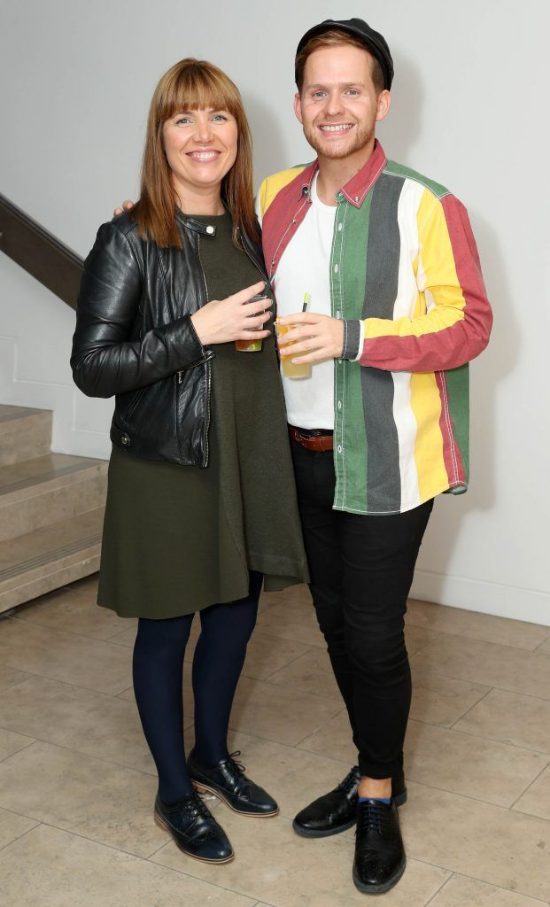 Elaine Cullen and Robert Loughnane at the RHA's Hennessy Lost Friday's final installment of 2017 on October 21st. Pic: Marc O'Sullivan