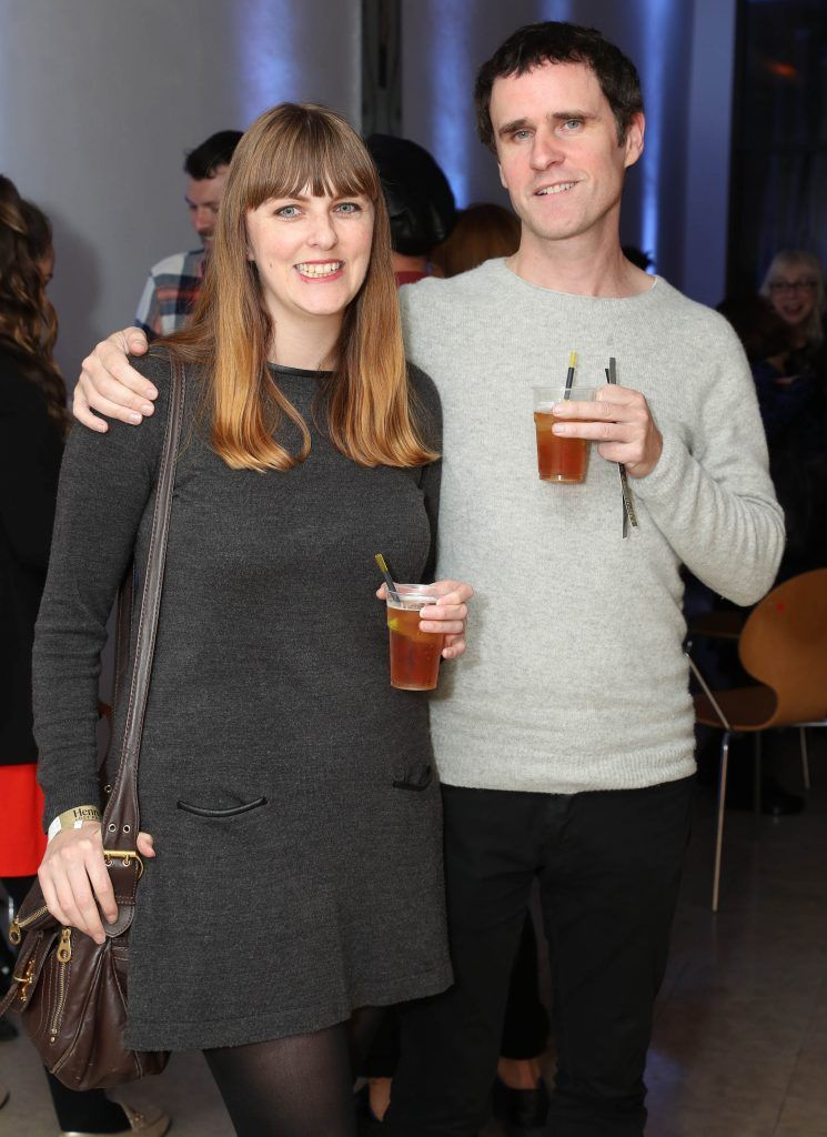 Leslie Ann Horgan and Kevin Burke at the RHA's Hennessy Lost Friday's final installment of 2017 on October 21st. Pic: Marc O'Sullivan