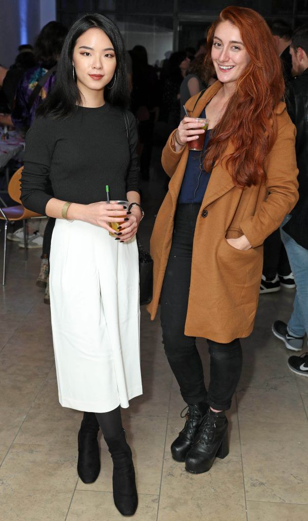Fiona Tan and Juliette Quedec at the RHA's Hennessy Lost Friday's final installment of 2017 on October 21st. Pic: Marc O'Sullivan