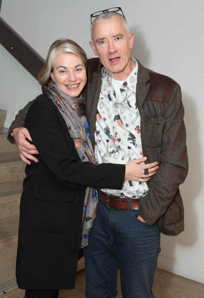 Anne Costelloe and Chris Garvey at the RHA's Hennessy Lost Friday's final installment of 2017 on October 21st. Pic: Marc O'Sullivan