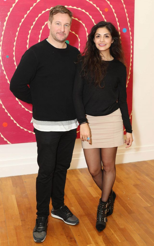 Fiachra and Paulina Treacy at the RHA's Hennessy Lost Friday's final installment of 2017 on October 21st. Pic: Marc O'Sullivan