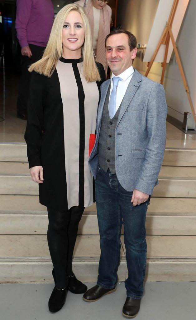Ellen Leonard Bates and JP Bates at the RHA's Hennessy Lost Friday's final installment of 2017 on October 21st. Pic: Marc O'Sullivan