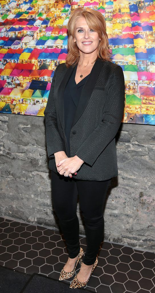 Roisin O Hea at the launch of the new first floor of Nightmarket Thai Restaurant, Ranelagh. Photo: Brian McEvoy