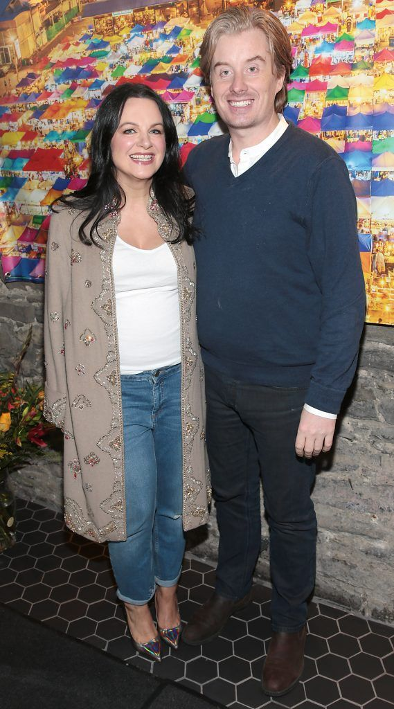 Triona McCarthy amnd Will White at the launch of the new first floor of Nightmarket Thai Restaurant, Ranelagh. Photo: Brian McEvoy