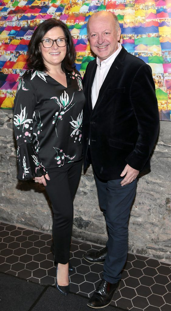 Ailish Cantwell and Paul O Connor at the launch of the new first floor of Nightmarket Thai Restaurant, Ranelagh. Photo: Brian McEvoy