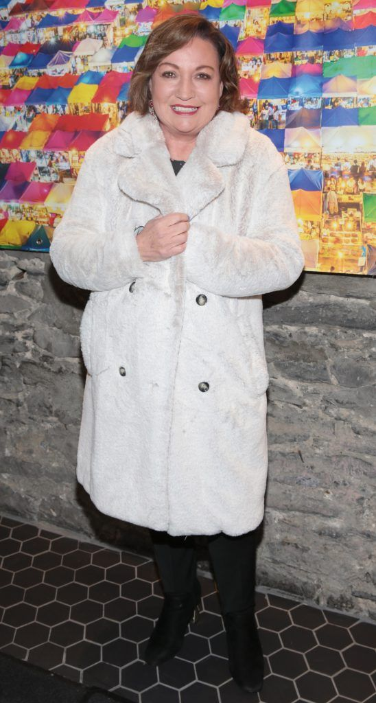Norah Casey at the launch of the new first floor of Nightmarket Thai Restaurant, Ranelagh. Photo: Brian McEvoy