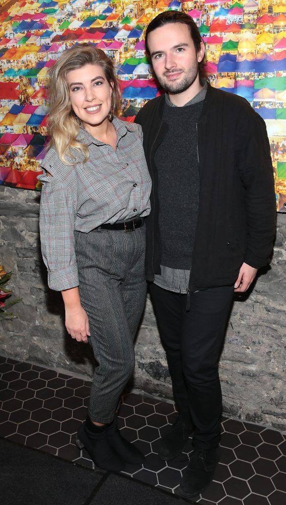 Emma Nolan and Eoghan O Riain at the launch of the new first floor of Nightmarket Thai Restaurant, Ranelagh. Photo: Brian McEvoy