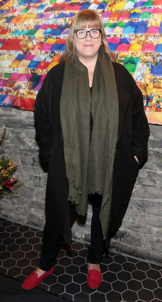Dee Purcell at the launch of the new first floor of Nightmarket Thai Restaurant, Ranelagh. Photo: Brian McEvoy