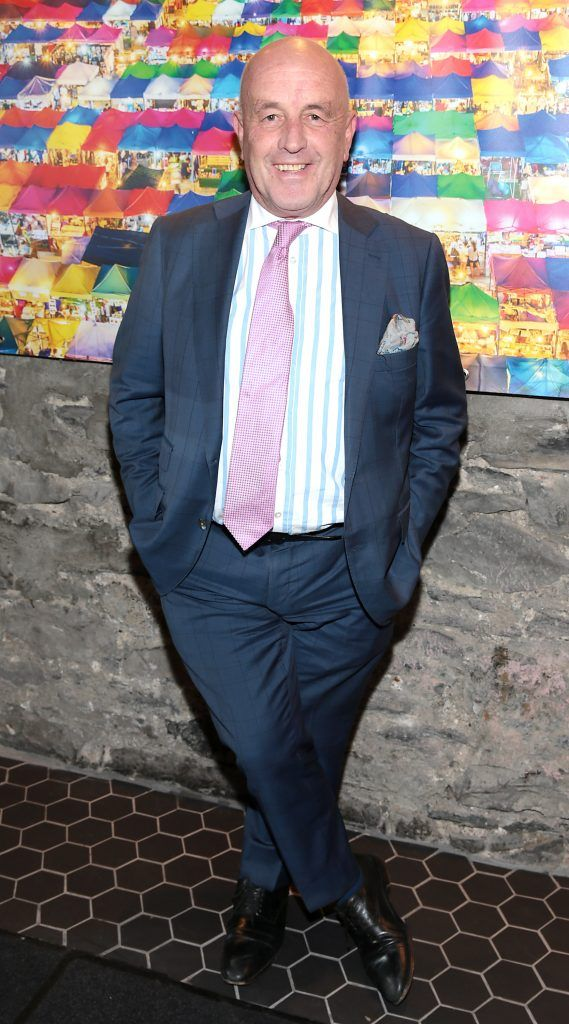 Louis Copeland at the launch of the new first floor of Nightmarket Thai Restaurant, Ranelagh. Photo: Brian McEvoy