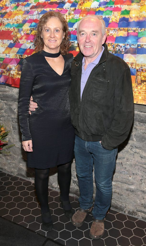 Geraldine Jennings and Kieran Lally at the launch of the new first floor of Nightmarket Thai Restaurant, Ranelagh. Photo: Brian McEvoy