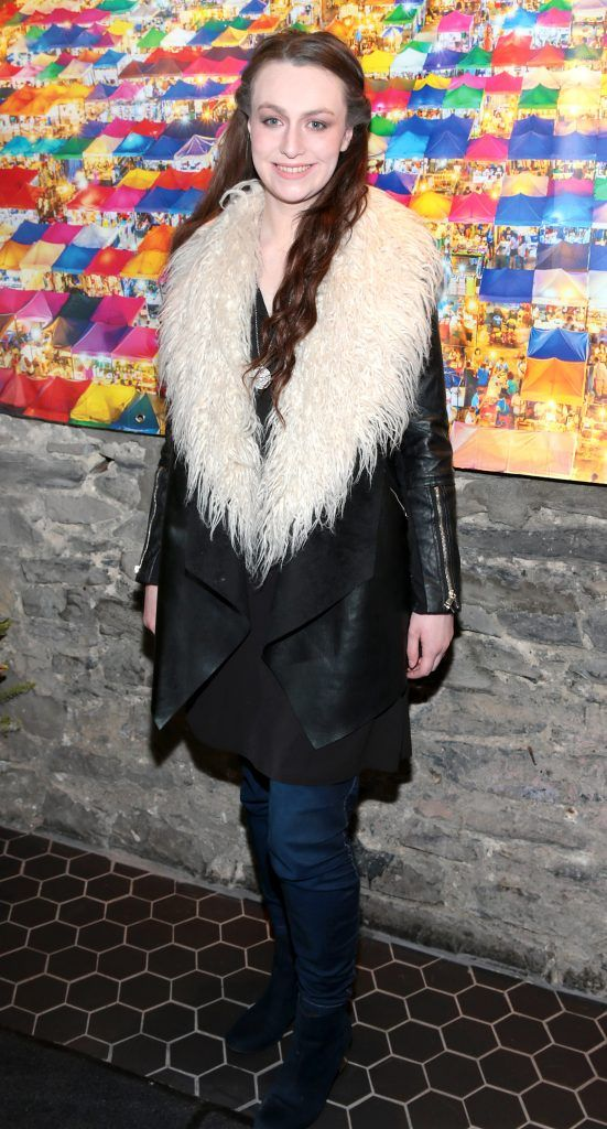 Louise Mooney at the launch of the new first floor of Nightmarket Thai Restaurant, Ranelagh. Photo: Brian McEvoy