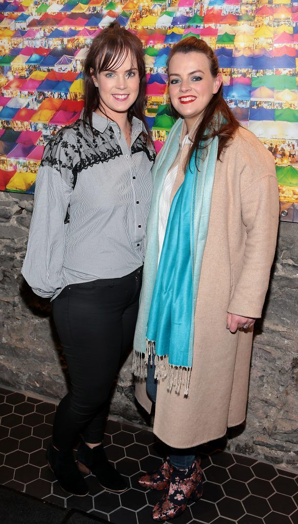 Gill Kavanagh and Caroline Kavanagh at the launch of the new first floor of Nightmarket Thai Restaurant, Ranelagh. Photo: Brian McEvoy