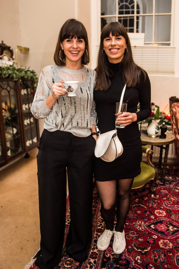Lynden Breatnach & Alex Tease at the exclusive launch of Hendrick's 'The Illustrious Manor of Eminence' at Tailor's Hall, Back Lane, Dublin 8. Photo: RuthlessImagery