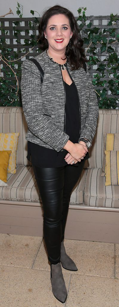 Aine Smyth pictured at the exclusive Audi Christmas Luncheon on Suesey Street Restaurant, Dublin. Photo: Brian McEvoy