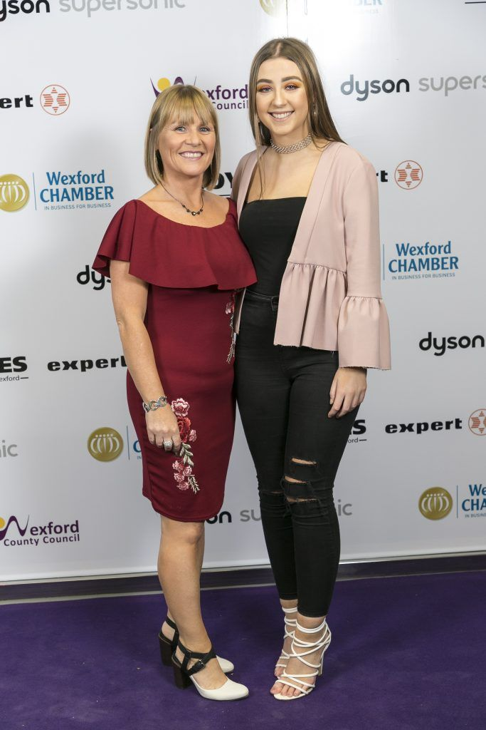 Wexford's County Hall was alive with fashion, style and glamour as over 600 fashionistas gathered for the annual Wexford Style event organised by Wexford Chamber. Photo: Paul Sherwood