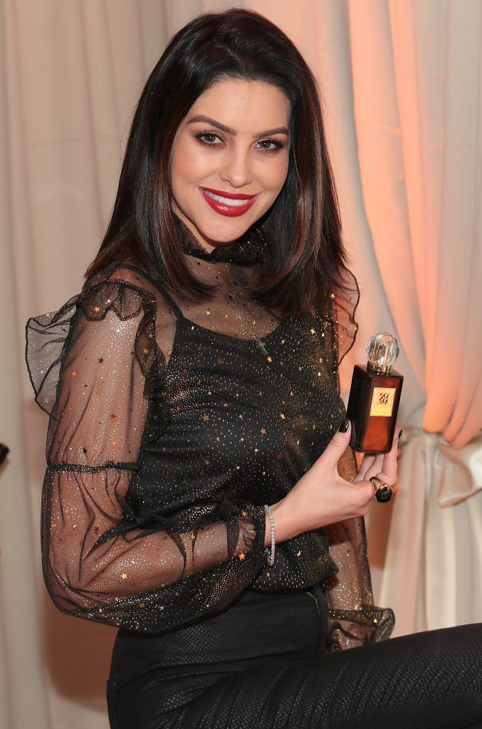 Suzanne Jackson launches fragrance SOSU by SJ